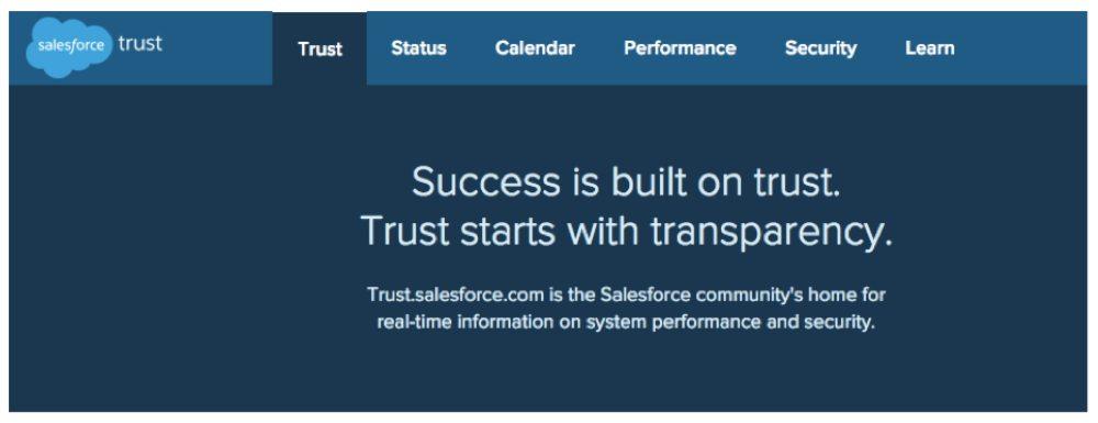 Salesforce Trust